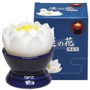 蓮花蠟燭(白)