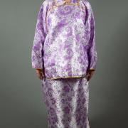 女全彩鳳仙裝(紫色)