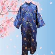 彩絲長袍馬褂(藍色)