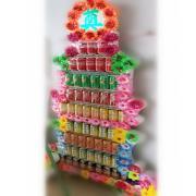 九層汽水罐頭塔