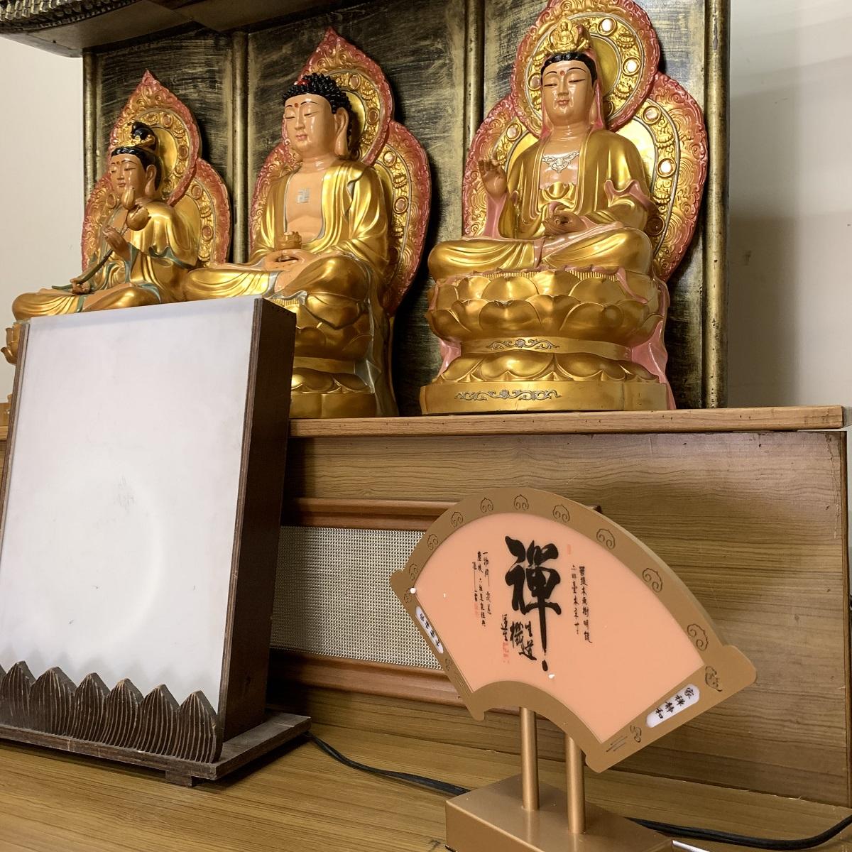 (館內入殮室)簡易佈置日式靈堂