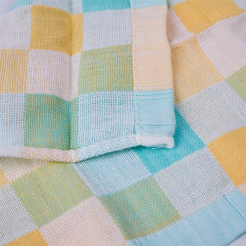 紗布三色方巾