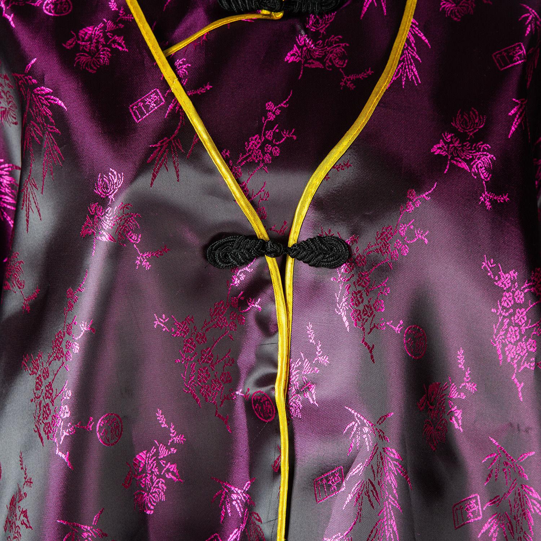 女士旗袍裝(黑紅)