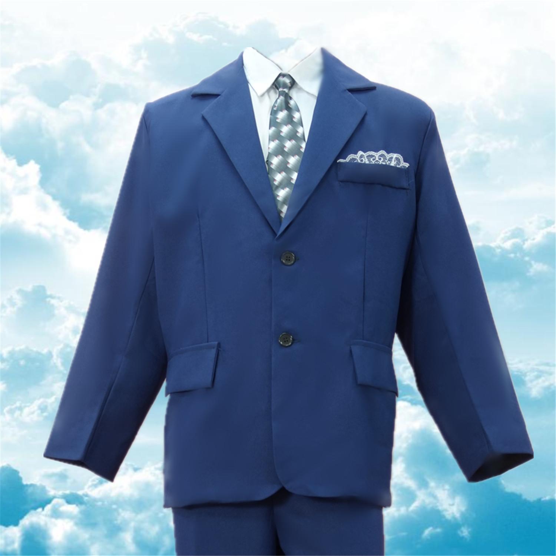 男士西裝(藍色)