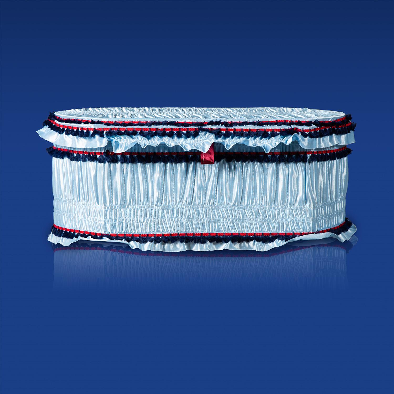 棺木-天使棺60公分藍色-北北基桃