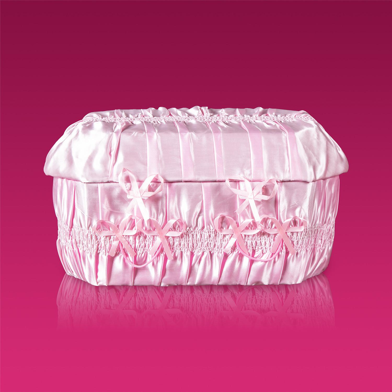 棺木-天使棺60公分粉紅色-北北基桃