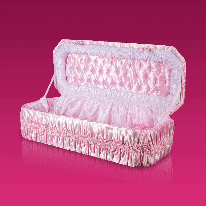 棺木-天使棺120公分粉紅-北北基桃
