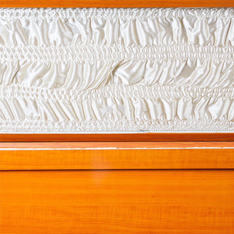 棺木-日式平口棺黃色-北北基桃
