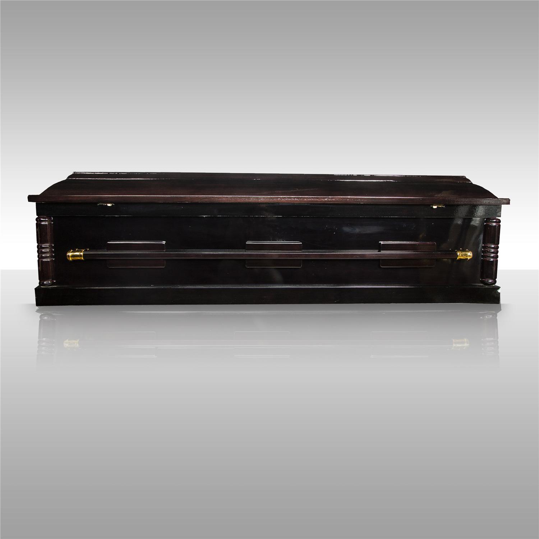 棺木-2呎環保火葬棺(黑)-北北基桃